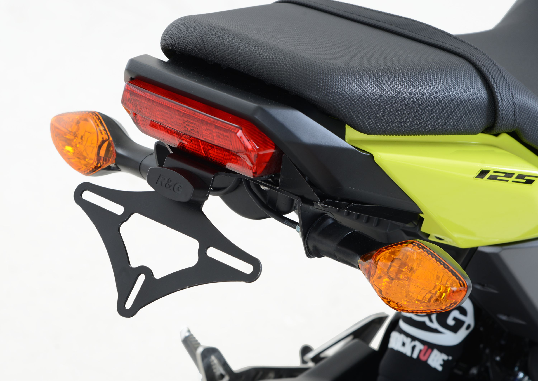 Kennzeichenhalter Honda MSX125 (GROM) \'16- | Powerparts Hinz ...