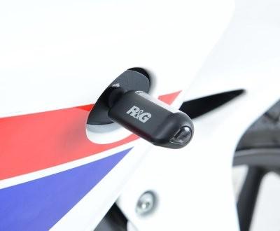 Micro Blinker - LED Type - Aero Style - schwarz - Paar