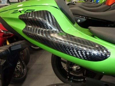 Heck Protektor aus Carbon - Kawasaki ZX 6 R