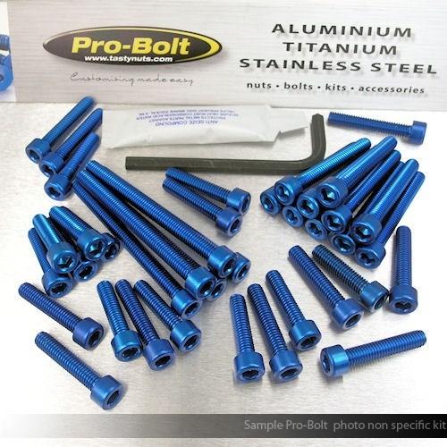 Aluminium Motor Schrauben Kit Yamaha YZF1000 R1 Big Bang '09-'14