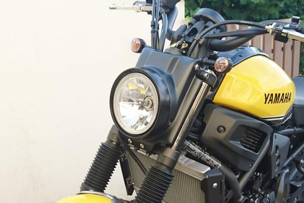 Lampenverkleidung matt schwarz lackiert Yamaha XSR700
