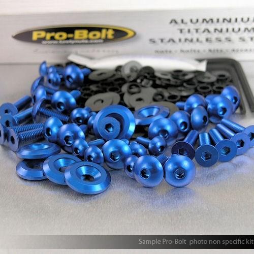 Alu Verkleidungsschraubenkit Aprilia RSV4 Factory