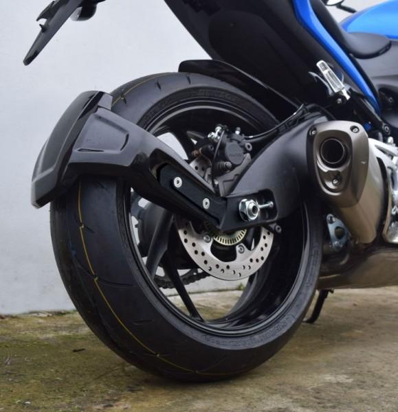 Hinterradabdeckung/Spritzschutz schwarz glänzend Suzuki GSX-S1000