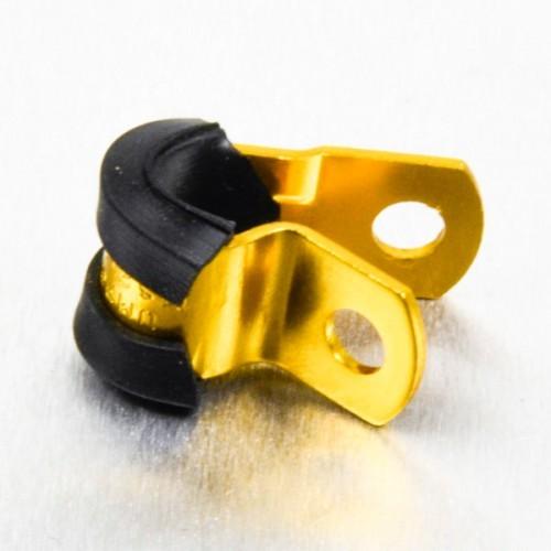 Alu Bremsleitungshalter 6mm