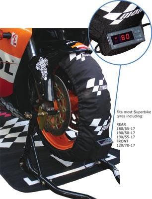 MotoGP Reifenwärmer Stufe2