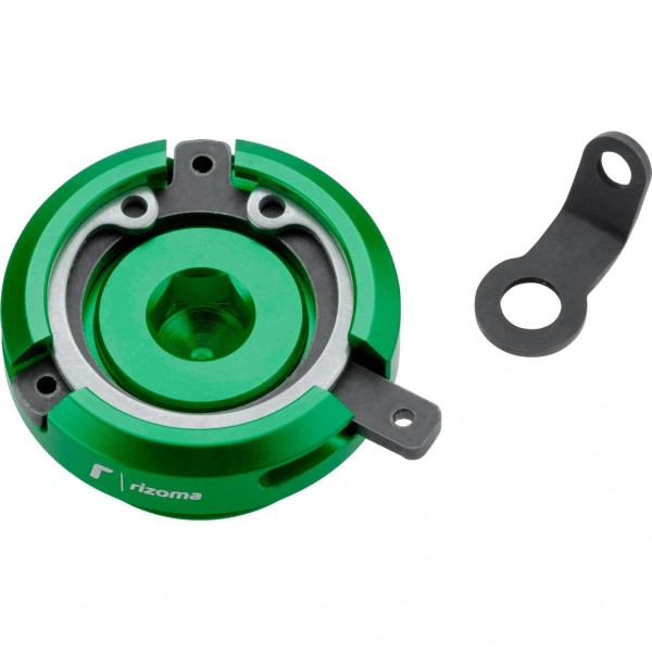 Öl Einfüllabdeck-Cap TP008V - grün